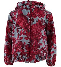 Moncler Jacket - Polina Giubbotto - Blue/Flowers