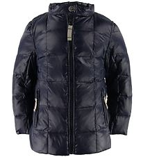 Ver de Terre Duck-Down Jacket - Navy