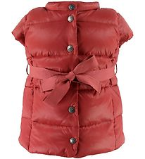 Ver de Terre Gilet w. Belt - Duck-Down - Blush