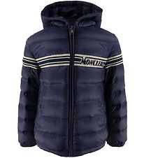 Moncler Goose-Down Jacket - Renald Giubotto - Navy
