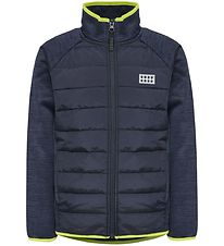 Lego Wear Fleece Jacket - Sam - Navy/Lime