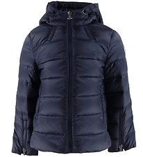 Moncler Duck-Down Jacket - Kolia Giubbotto - Navy