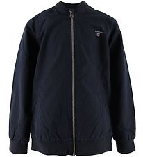 GANT Jacket - The Original Ribbed - Navy