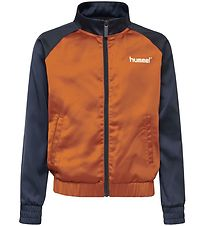 Hummel Teens Lightweight Jacket - Melody - Navy/Brown
