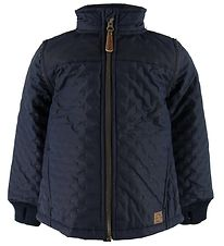 Mikk-Line Thermo Jacket - Blue Nights/Dots