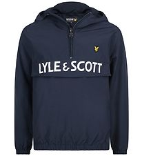 Lyle & Scott Junior Anorak - Navy w. Logo