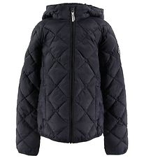 GANT Padded Jacket  - The Lt Weight Diamond Puffer - Black