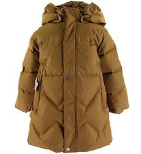 Mini A Ture Down Jacket - Isabelle - Rubber Brown