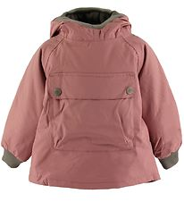 Mini A Ture Winter Coat - Baby Wen Anorak - Withered Rose