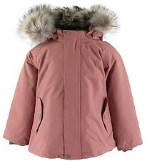 Mini A Ture Winter Coat - Wally Fur - Withered Rose