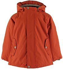Mini A Ture Winter Coat - Wally - Rooibos Tea Orange