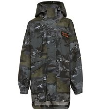 Molo Rain Jacket - Harden - Mountain Camo