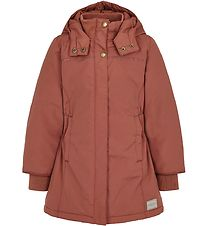 MarMar Winter Coat - Olga - Dark Brick