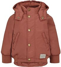 MarMar Winter Coat - Ode - Dark Brick