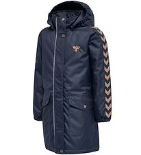Hummel Winter Coat - HMLJeanne - Blue w. Angles