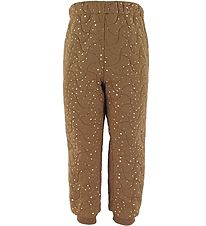 Wheat Thermo Trousers - Alex - Caramel Dot