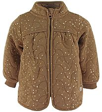 Wheat Thermo Jacket - Thilde - Caramel Dot