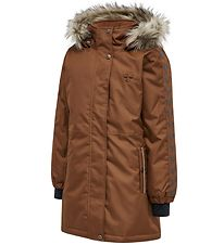 Hummel Winter Coat - HMLLeaf - Tortoise Shell