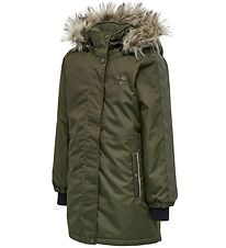 Hummel Winter Coat - HMLLeaf - Olive Night