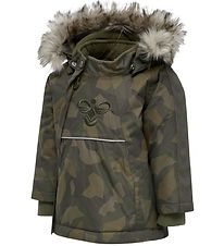 Hummel Winter Coat - HMLJessie - Olive Night
