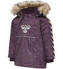Hummel Winter Coat - HMLJessie - Blackberry Wine