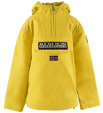 Napapijri Winter Coat - Rainforest - Yellow Oil
