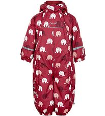 CeLaVi Snowsuit - Rio Red w. Elephants
