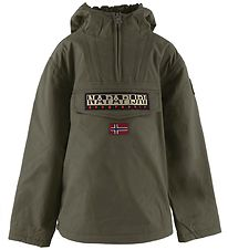 Napapijri Winter Coat - Rainforest - Green Depths