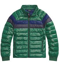 Polo Ralph Lauren Padded Jacket - Green w. Blue/Navy