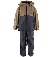 byLindgren Rainwear w. Suspenders - PU - Gunnar - Night Blue