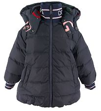 Dolce & Gabbana Down Jacket - Reversible - Navy w. Letters
