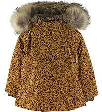 Mini A Ture Winter Coat - Wang Fur - Buckthorn Brown