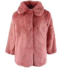 Christina Rohde Jacket - Faux Fur - Pink