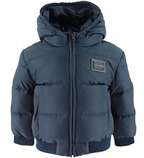 Dolce & Gabbana Down Jacket - Navy