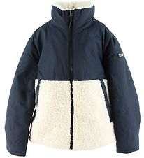 Champion Fashion Winter Jacket - Navy / Beige