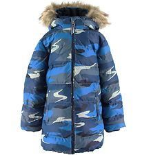 GANT Padded Jacket - Landscape - Blue