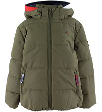 Tommy Hilfiger Padded Jacket - Essential - Armygreen