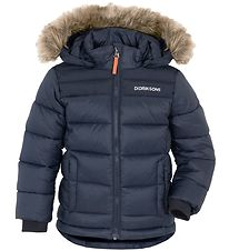 Didriksons Padded Jacket - Digory - Navy