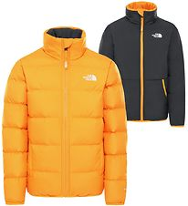 The North Face Down Jacket - Reversible - Andes - Summit Gold/Bl