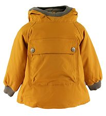 Mini A Ture Winter Coat - Baby Wen Anorak - Buckthorn Brown