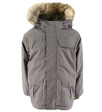 Mini A Ture Winter Coat - Walder Fur - Dark Shadow