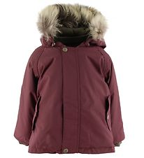 Mini A Ture Winter Jacket - Wally Fur - Catawba Grape