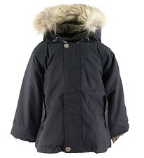 Mini A Ture Winter Coat - Wally Fur - Tap Shoe Black