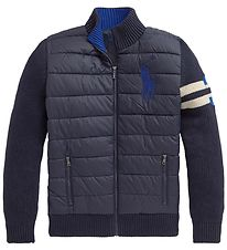 Polo Ralph Lauren Jacket - Knitted - Navy