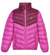 Color Kids Padded Jacket - Beet Red