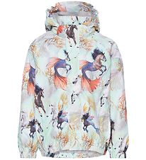 Molo Rain Jacket - Waiton - Swiming Horses