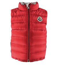 Moncler Down Gilet - Basileus - Red