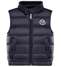 Moncler Down Gilet - New Amaury - Navy