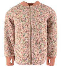 Wheat Thermo Jacket - Loui - Alabaster Flowers