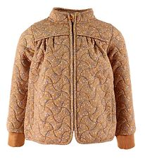 Wheat Thermo Jacket - Thilde - Golden Flowers